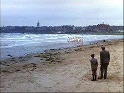 Some of the scenes from the film Chariots of Fire were filmed at West Sands, St Andrews