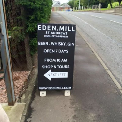 Eden Mill brewery St Andrews