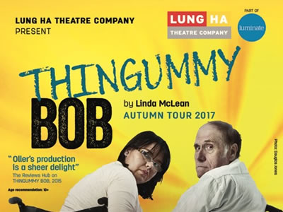 Lung Ha Theatre's Thingummy Bob visiting St Andrews on 20 October